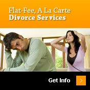 Flat-Fee, A La Carte Divorce Services | Get Info